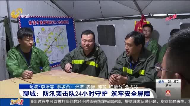 聊城:防汛突击队24小时守护 筑牢安全屏障