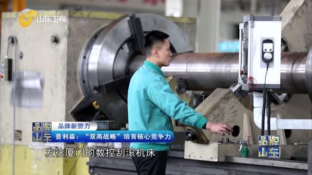 """【品牌新势力】普利森:""""双高战略""""培育核心竞争力"""