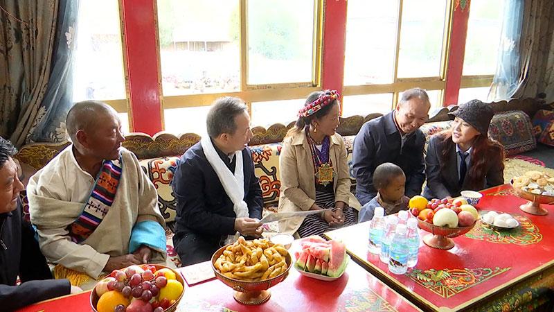 山东省代表团到青海西藏考察对口支援工作