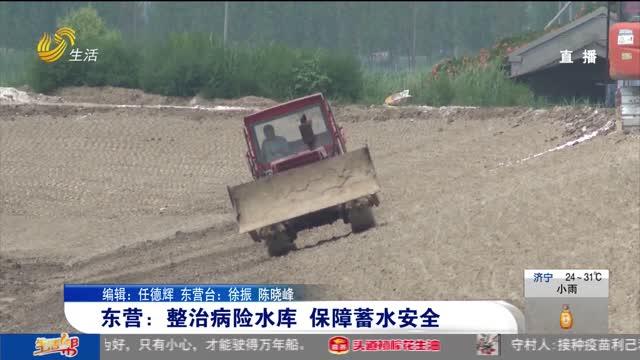 东营:整治病险水库 保障蓄水安全