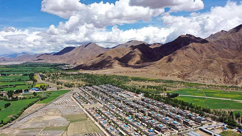 """山东:实施鲁藏百村生态家园示范项目 打通脱贫攻坚""""最后一公里"""""""
