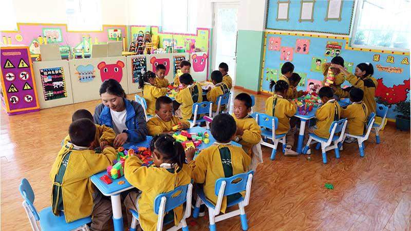 """青岛援藏:""""三个100%"""" 破解乡村学前教育难题"""