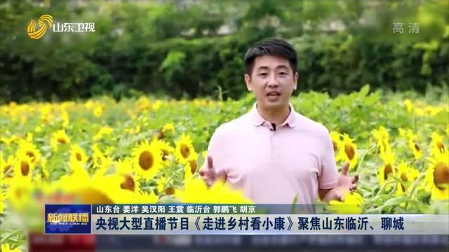 央视大型直播节目《走进乡村看小康》聚焦山东临沂、聊城