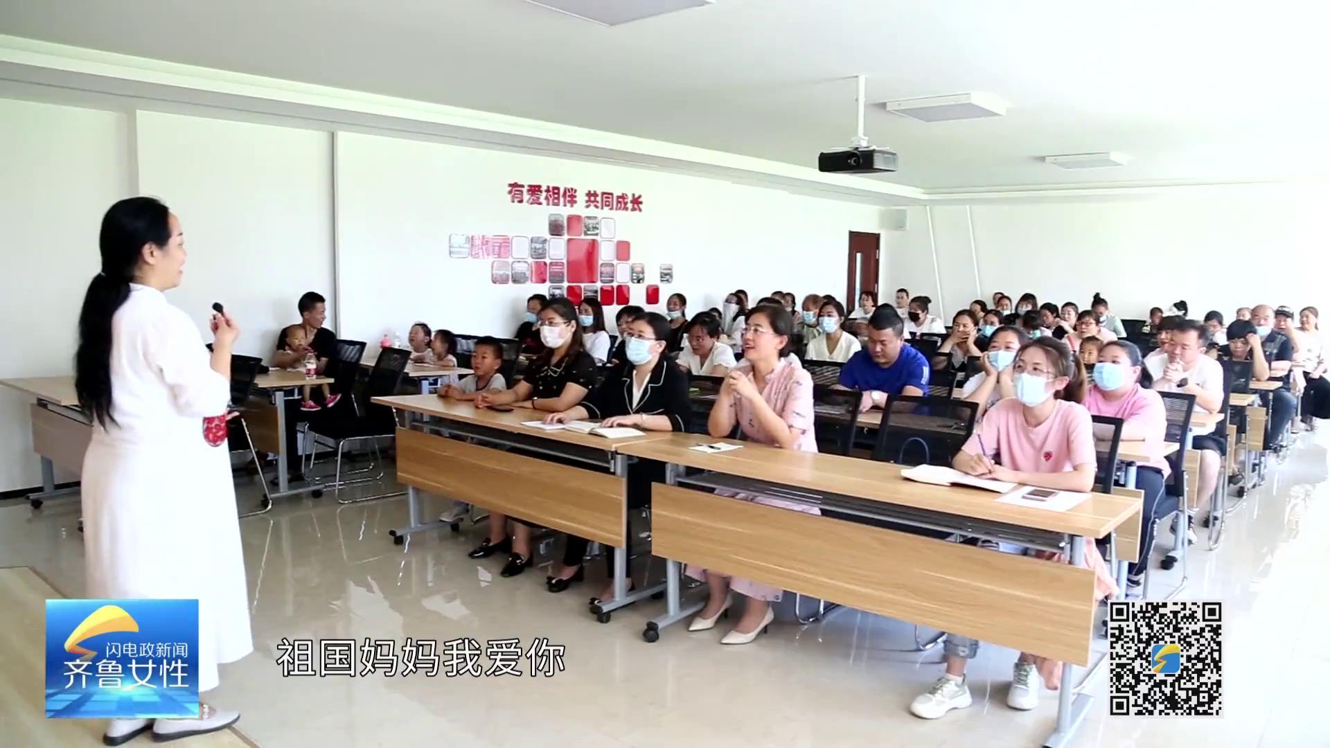 """广饶:社区里的""""红色课堂"""" 让党史学习教育走进千家万户"""