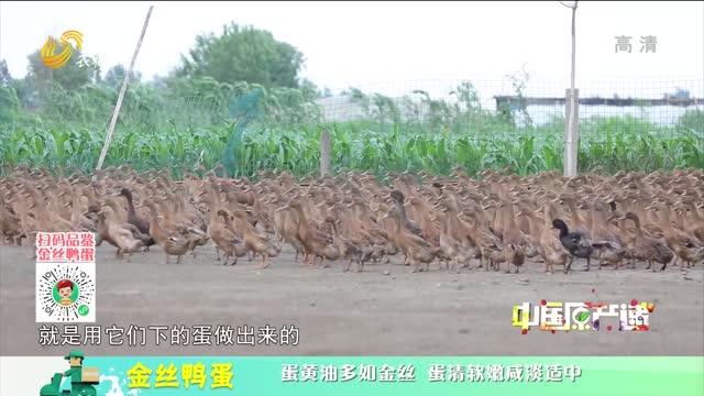 20210910《中国原产递》:金丝鸭蛋