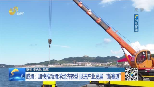 """威海:加快推进海洋经济转型 挺进产业发展""""新赛道"""""""