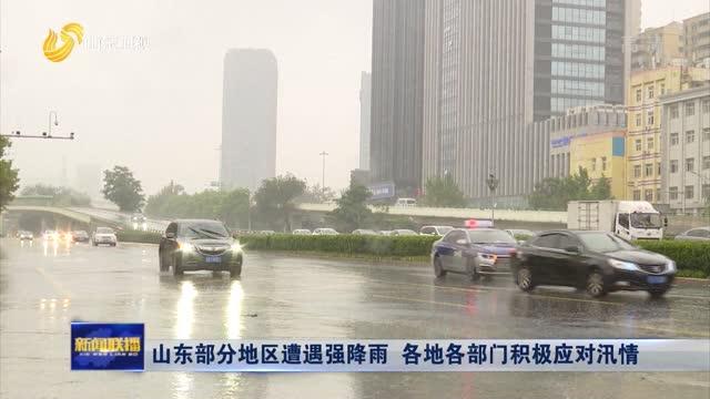 山東(dong)部分地區(qu)遭遇強降雨 各地各部門積(ji)極應對汛情
