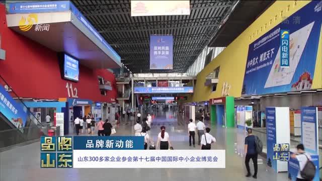 【品牌新动能】山东300多家企业参会第十七届中国国际中小企业博览会