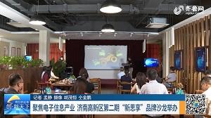 """聚焦电子信息产业 济南高新区第二期""""新思享""""品牌沙龙举办"""