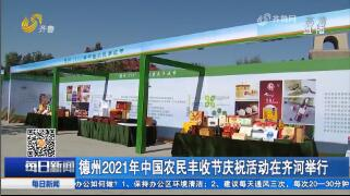 德州2021年中国农民丰收节庆祝活动在齐河举行