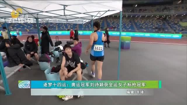 逐梦十四运:奥运冠军刘诗颖获全运女子标枪冠军