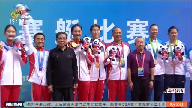 载誉归来 第十四届全运会山东体育代表团28日凯旋