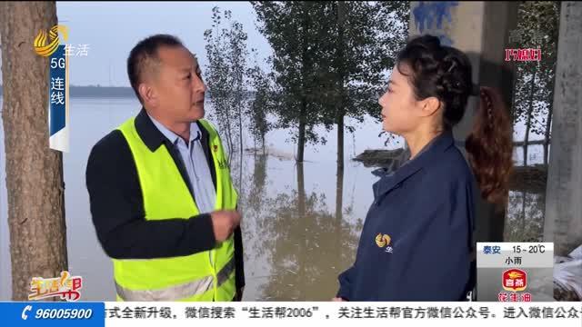 聊城漳卫河加固险工闸口 确保安全度汛