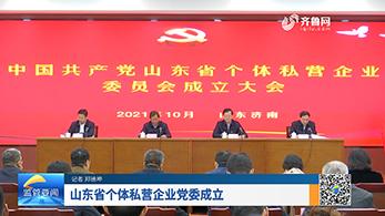 山东省个体私营企业党委成立