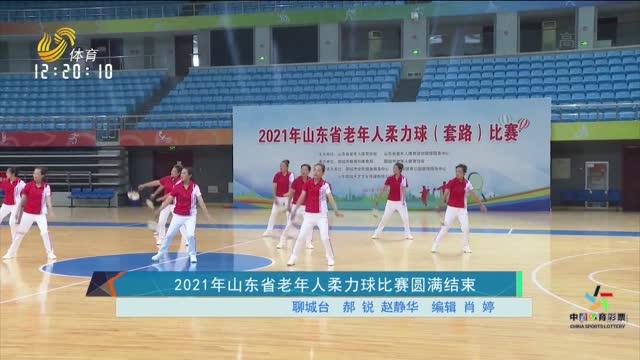 2021山东省老年人柔力球比赛圆满结束