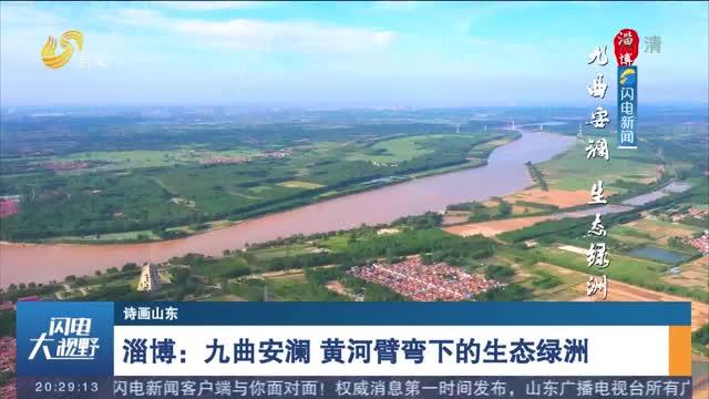 【诗画山东】淄博:九曲安澜 黄河臂弯下的生态绿洲