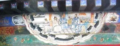 京颐和园长廊苏式包袱彩画图片