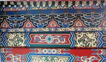 中国古代官式建筑彩画