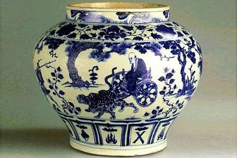 谜一样的元青花把青花瓷推上了第一个艺术巅峰