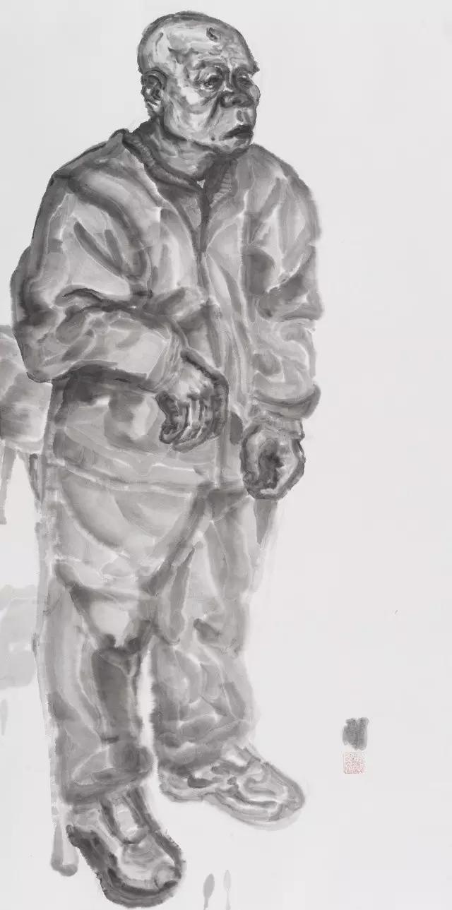 中央美院王晓辉水墨工作室——人物写生巡回展·第二站