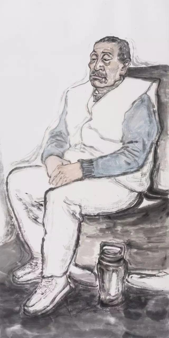 中央美院王曉輝水墨工作室——人物寫生巡回展·第二站