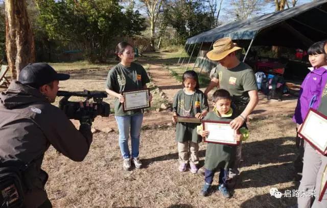 7岁小小志愿者踏上非洲野保之旅