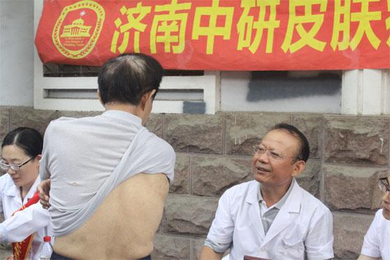 名医进基层成常态 济南中研健康科普进社区