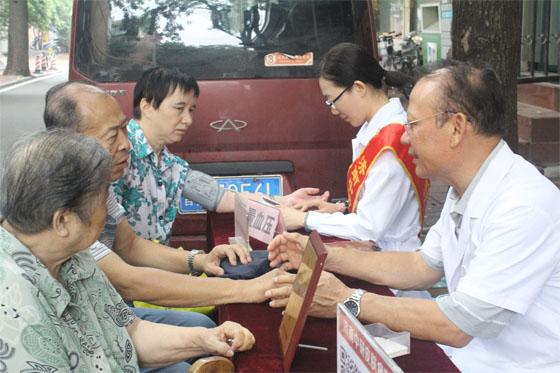 普及健康生活 提供优质高效的医疗服务 济南中研开展健康普查