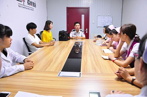 济南和谐妇科医院开展消防安全知识培训