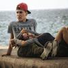 《海边的情侣》