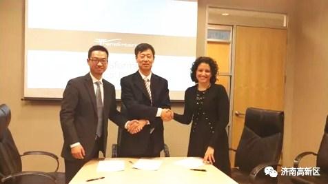 国际顶尖腹腔手术机器人项目签约落户济南高新区
