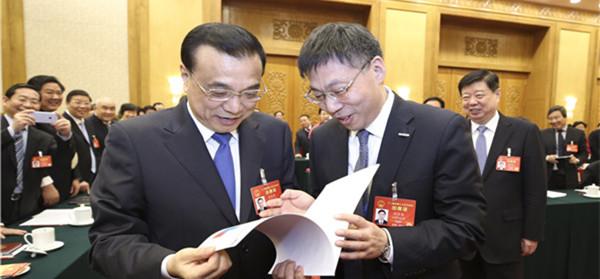 李克强总理点赞浪潮:希望大数据能帮助政府发现更多问题