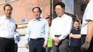 淄博市委书记江敦涛调研主城区城建重点工程