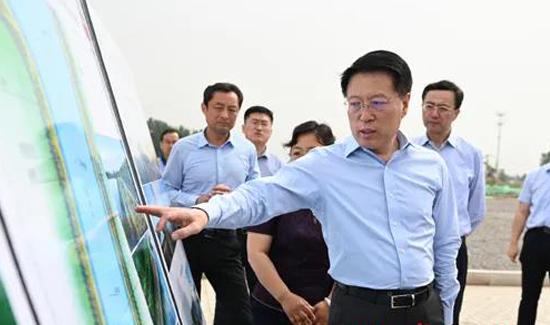 淄博市委书记江敦涛调研防汛和水利工程建设