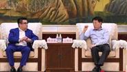 江敦涛会见中建上信(北京)基金管理有限公司创始合伙人陈文豪一行