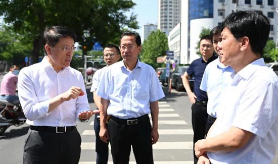 江敦涛调研督导媒体曝光的城市规划建设管理短板问题