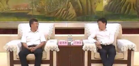 石柱县党政代表团来淄博对接东西部扶贫协作工作