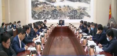 济南市委党的建设工作领导小组召开2020年第五次会议