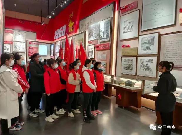 金乡县:用活本地红色资源让党史教育走深走实