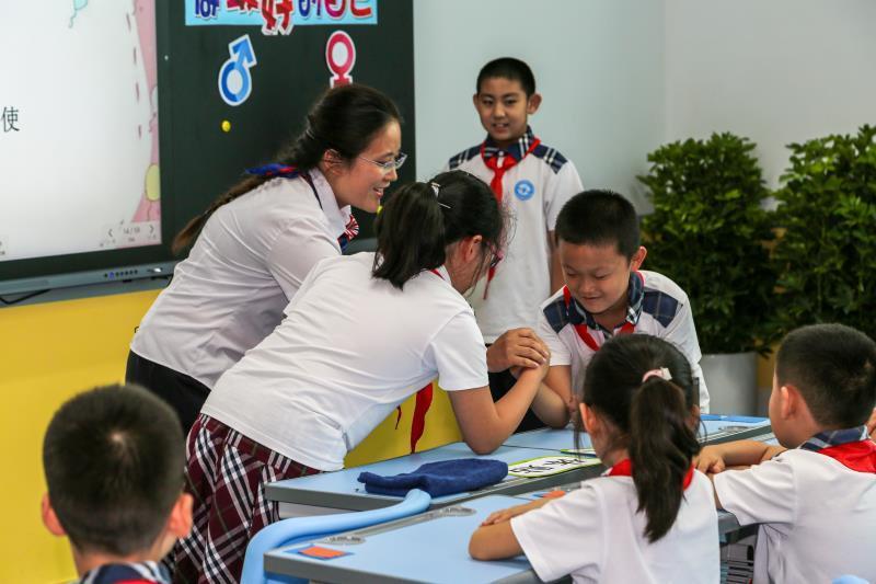 青岛二十四所学校成为性别平等教育试点学校