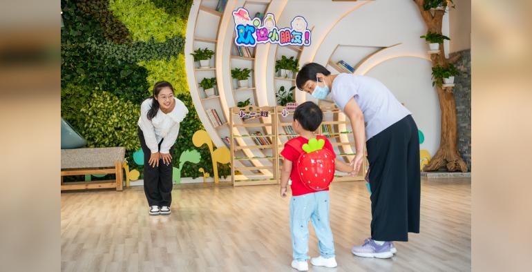 甜蜜遇见 幸福体验  历下区紫苑幼教集团举办新生试园活动