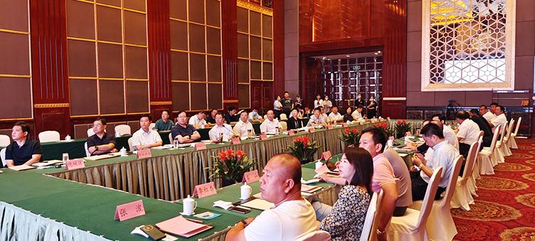 德州市委书记田卫东与北京新发地市场客人座谈